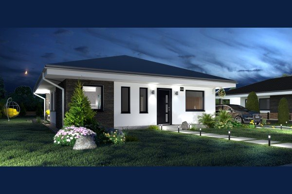 Ponúkame na predaj novostavby rodinných domov v Dolnej Strede na pozemkoch od 500 do 550m2 - Rodinný dom - Predaj